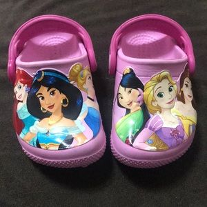 Other - Baby girl Disney princess crocs